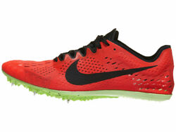 Mens Nike Zoom Victory 3 Spikes Running Shoes Red Orbit Black Lime 835997-663