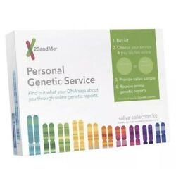 23AndMe DNA Ancestry Saliva Collection Kit Exp 10252019 Genetic New Sealed