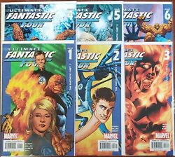 Ultimate Fantastic Four #1 #2 #3 #4 #5 #6 (Feb 2004 Marvel) HIGH GRADE