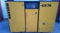 Kaeser CS 76 60hp Rotary Screw Air Compressor CNS-74 460V 3 Phase 222cfm 145psi