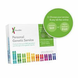 23andMe Personal Genetic DNA Saliva Kit For Ancestry. FEES EXCLUDED!