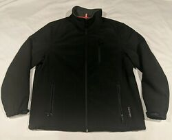 Calvin Klein Mens Large Wind Breaker Protector Water Resistant Jacket Coat