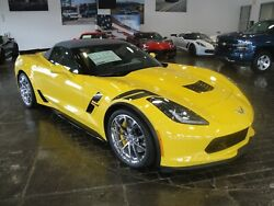 2019 Chevrolet Corvette 2LT UNIQUE NEW MANUAL GRAND SPORT CONVERTIBLE 2019 CORVETTE HERITAGE PACKAGE 2LT!