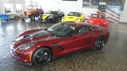 2019 Chevrolet Corvette 2LT NEW 2019 LONG BEACH RED 2LT STINGRAY COUPE AUTO DUAL MODE EXHAUST SPOILER!