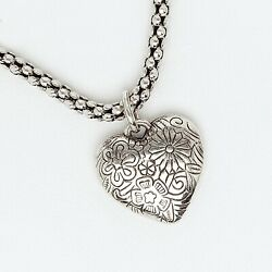 Heart Pendant for Women and Girls in White Gold Filled $15.00