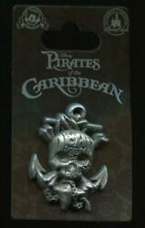 Pirates of the Caribbean Ships Anchor with Skull Disney Pin 122239 $7.95