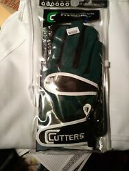 Cutters Football Gloves 017 Original Receiver Green Size M New $22.70