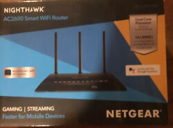 SEALED NETGEAR Nighthawk AC2600 Smart WiFi Router *Gaming+Streaming* (R7450)