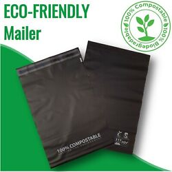 100 Biodegradable Poly Mailer Compostable Bags Satchels Mailing Shipping Package AU $35.95