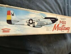 House Of Balsa 1 2A P51d Mustang 36in Wing Span . Plans templates manual $34.00
