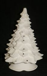 Doc Holiday 12quot; Christmas Tree with Lights *Ceramic Bisque Ready to Paint $37.00