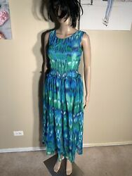 "MeiYiZhLian Size M New Maxi Dress Length 50"" $20.00"