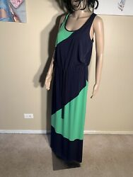 "Maggy London Size 10 Maxi Dress Length 58"" $12.00"