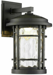 Glass For Altair 9quot; Led Outdoor Wall Lantern AL2167 Only the Glass $44.99
