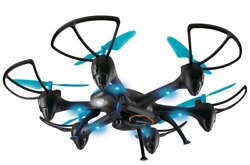 Skyrider Night Hawk Hexacopter Drone with Wi Fi Camera—Open Box New—READ $84.99