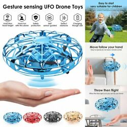 360° Mini UFO Drone RC Infrared Sensor Induction Quadcopter Flying Aircraft Toy $19.65