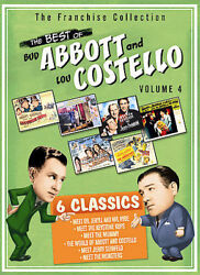 The Best of Bud Abbott and Lou Costello Volume 4 DVD  NEW $16.99