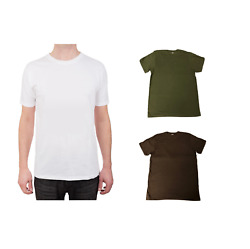 5 10 or 12 Pack T Shirts Preshrunk 100% Soft Cotton Superior Quality Crew Neck $15.95