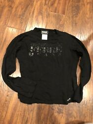 RARE Gianfranco Ferre Black Long Sleeve Wool Shirt Top-Italy-S-$250