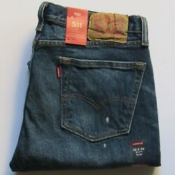 NWT MEN#x27;S LEVI 511 SLIM JEANS. PROFESSOR MARVEL. LEVI #045112738. CHOOSE SIZE. $17.95