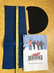 Redfeather Snowshoes Repair Kit Fabric Booklet Red Feather $4.99