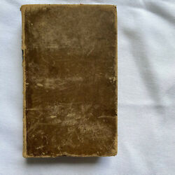 The Christian Philosopher by Thomas Dick 1837 -Vintage Hardcover