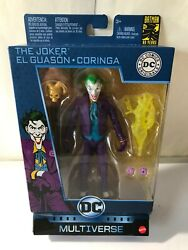 MULTIVERSE THE JOKER. 6 Inch Action Figure 80th Anniversary mattel new $20.99
