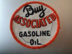 BUY ASSOCIATED GASOLINE OIL ROUND PATCH 3quot; IN DIAMETER $19.99