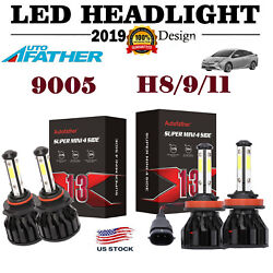 For Toyota Camry 2011 9005 H11 HB3 H8 H9 H16 LED Cree Headlight High Low Beam $32.98