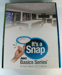 Juno Basic Series Its A Snap Surface Mount LED Fixtures 4RLS 927 6 W