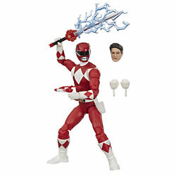 Power Rangers Lightning Collection 6-Inch Mighty Morphin Red Ranger Collectible $19.99