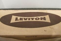 LEVITON LIGHT SWITCHES