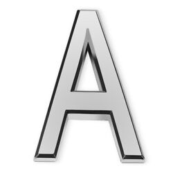 Barton 4quot; House Door Wall APT Hotel Letter Home Street Self Adhesive Letter A