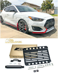 EOS Plate For 19-Up Hyundai Veloster N Front Tow Hook License Plate Bracket $45.50