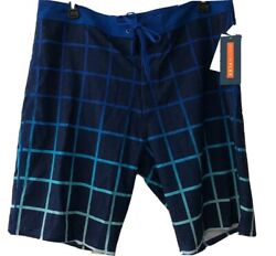 NWT Old Navy Built In Flex Blue Men#x27;s Shorts Size 40 At Knee UV Protection $15.95