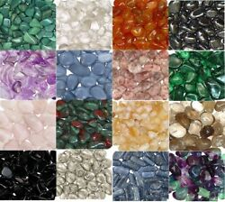 12 Lb Tumbled Stones 0.75-1.25 Inch Crystal Healing Stones Choose Stone Type