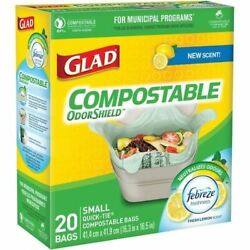 Glad Compostable Bags 78162 C $13.71