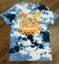 NICKELODEON RUGRATS BLUE TIE DYE T SHIRT SIZE S M L NEW RARE $19.95
