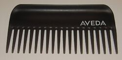 Aveda Detangling Comb Black Wide Tooth Logo NEW  FREE SHIPPING 6.25 Inch NWOB $16.90