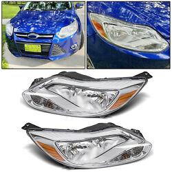 Fit 2012 2014 Ford Focus Headlights HeadLamp Assembly LightRight Light 12 13 14 $118.50