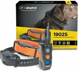 Dogtra 1902S Remote 2 Dog Training Collar 3 4 Mile High Power Trainer FAST SHIP $338.00