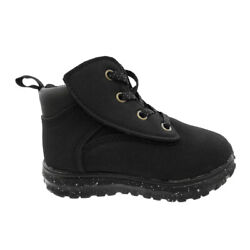 Wonder Nation Tucker Boots Faux Laces Slip On Little Toddler Boys 9 10 11 $11.95