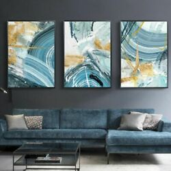 Wall Canvas Painting Poster Print Picture Modern Abstract For Living Room Decor $28.23