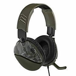 Turtle Beach Recon 70 Gaming Headset for Xbox One Switch PS4 Green Camo $39.95
