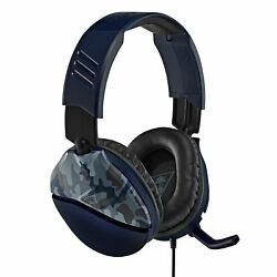 Turtle Beach Recon 70 Gaming Headset for Xbox One Switch PS4  Blue Camo $39.95