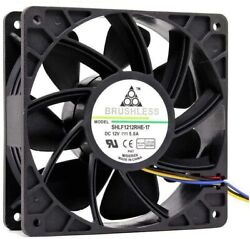 Tekit 12V 5.0A Brushless Cooling Fan PC Case Antminer Computer 120x120 120mm $7.38