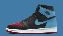 Nike Jordan 1 High size 6 Men 7.5 Wmns. UNC Chicago Top 3 Bred Blue CD0461 046 $269.99