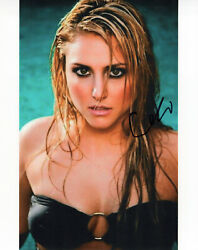 Cassie Scerbo glamour shot autographed photo signed 8x10 #2 $22.50
