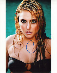 Cassie Scerbo glamour shot autographed photo signed 8x10 #3 $22.50