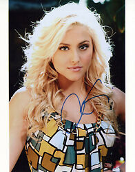 Cassie Scerbo glamour shot autographed photo signed 8x10 #17 $22.50